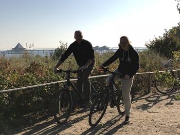 ausgiebige Radtour direkt an der Promenade