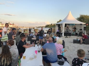 öffentliche Strandevents