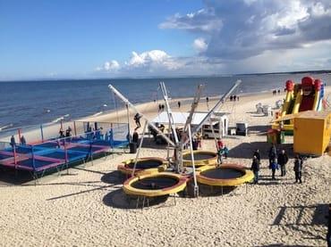 Spiel und Spass direkt am Meer