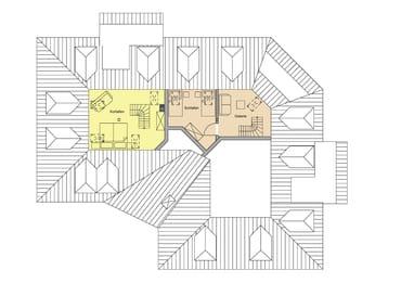 Fewo Gabriele - Maisonnette links - gelb