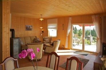 Ferienhäuser Bansin - Wohnzimmer