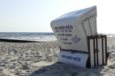Gäste Strandkorb kostenlos (wenn verfügbar)