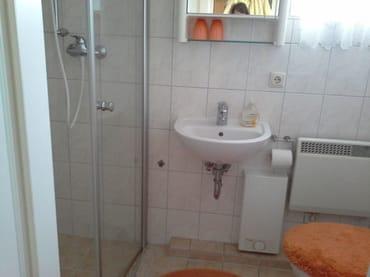 Dusche Toilette Apartment