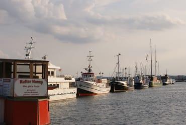 der Hafen von Sassnitz