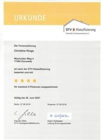 Auszeichnung des DTV mit 4 Sternen