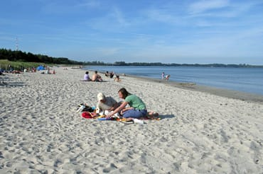 Strand 150 m von der Strandresidenz entfernt