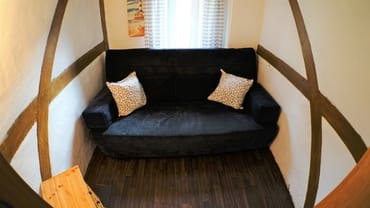 zweites, kleines Schlafzimmer