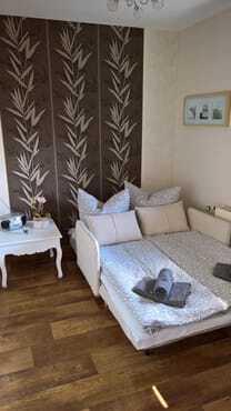 Esszimmer: Auf Wunsch: 2. Schlafzimmer (Liegefläche 1,20 x 1,90cm), bitte bei Buchung angeben