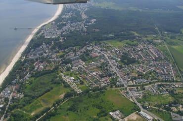 Luftaufnahme von Heringsdorf