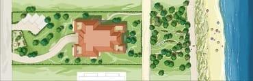 Lage und Grundriss der WH 12 ist identisch mit WH 2, unserer  Terrassenwohnung