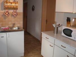 Küche mit Miniküche