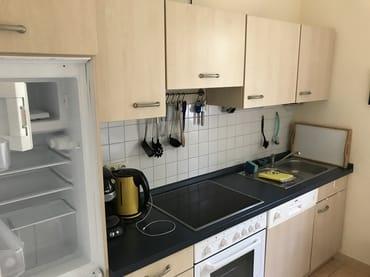 Die Küche lädt zum Kochen