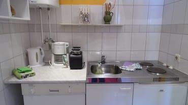 komplette Küchenzeile mit Geschirrspüler