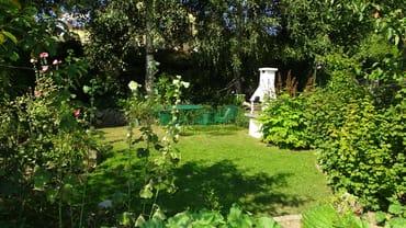 Grillbereich im Garten (Grillzubehör & Strandkorb)