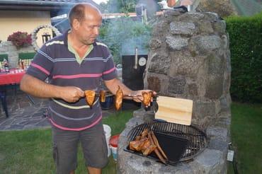 Auf Wunsch räuchern wir frischen Fisch