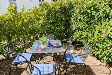 Terrasse der Ferienwohnung 05