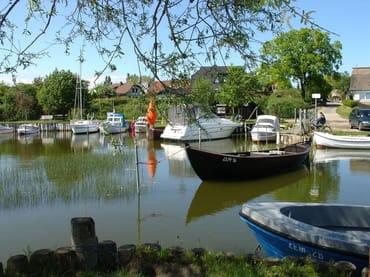 Idyllischer Bootshafen, 3 Min. zu Fuß