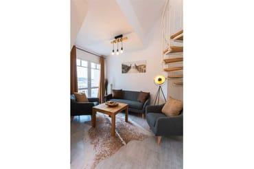 Sitzbereich im Wohnzimmer
