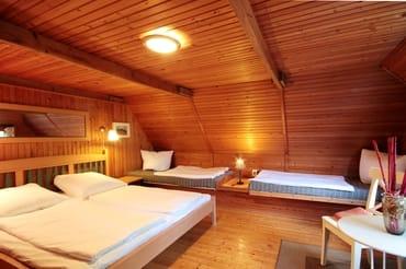 1 von insgesamt 5 Schlafzimmern