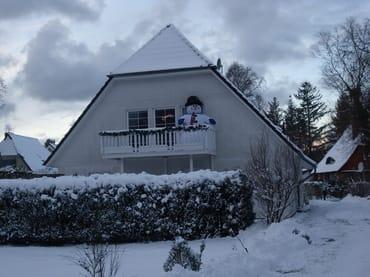 Haus Erika im Winter