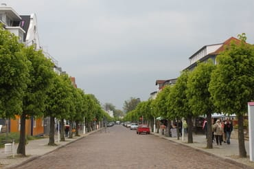 Die Wilhelmstrasse - nur 10 Gehminuten entfernt