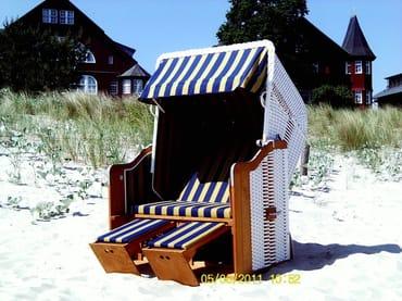 Strandkorb, zum Entspannen