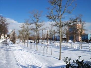Promenade im Winter