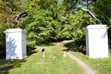 Parkeingang - Fechter Tor