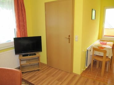 Detail Wohnraum und Küche