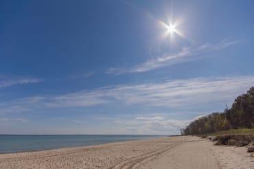 Ihr wunderschöner Strand - mit Blick gen Süden