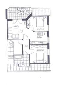 Wohnung 2.3. Grundriss