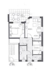 Wohnung 3.1. Grundriss