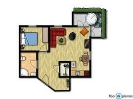 Villa am Park, Wohnung 8