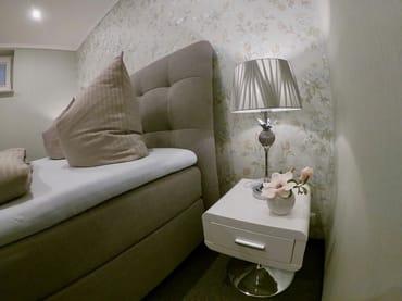 Detailansicht Schlafzimmer