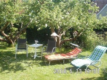 Erholsame Ruhe im Garten