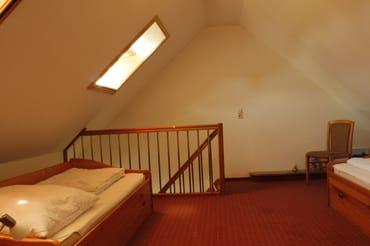zweites Schlafzimmer im Obergeschoss