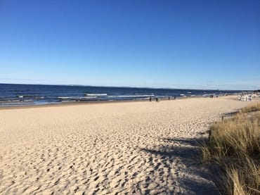 Ostsee-Sandstrand