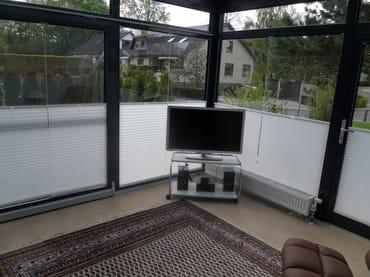 2.TV im Wintergartenbereich