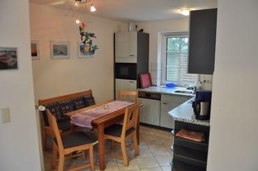 Küchen- und Essbereich der Wohnung
