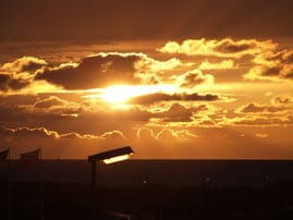 Sonnenuntergänge am Meer, dieses Erlebnis vergessen Sie nicht so schnell