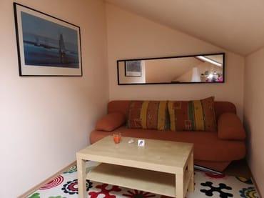 Kleine Sitzecke in der Wohnstube