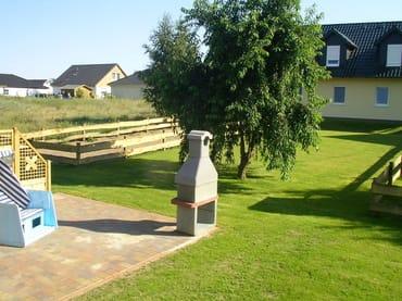 Garten mit Sitzecke