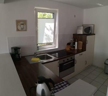 Küche des Ferienhauses