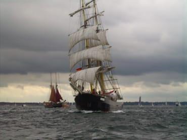 auch bei Wind und Wolken hat die Ostsee ihren Charme