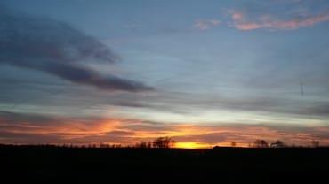 herrliche Sonnenuntergänge