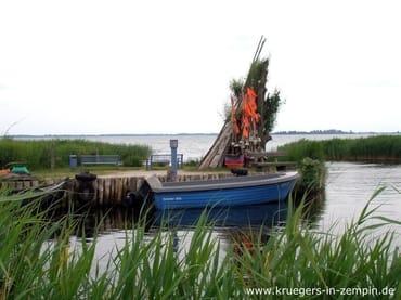 Zempins Hafen am Achterwasser