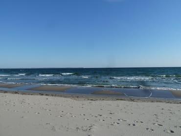 Blick von Glowe zum Kap Arkona