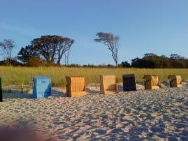 Der Strand ist nur wenige Gehminuten vom Ferienhaus entfernt