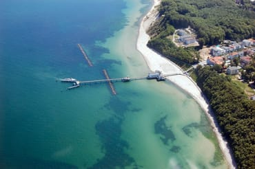 Selliner Seebrücke von Oben