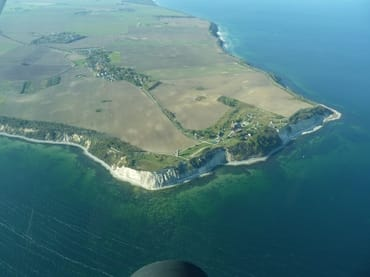 Bis zum Kap Arkona sind es 10 km (Foto: Hinsch)